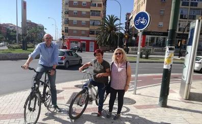 Adelante Málaga quiere duplicar la red de carril bici y llevarla hasta los barrios