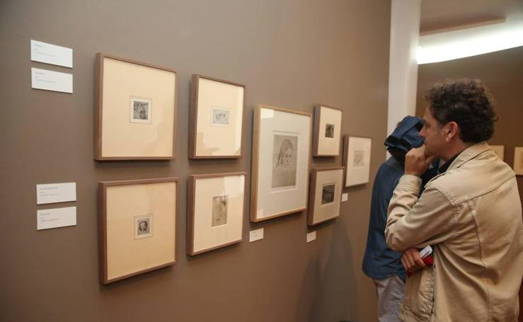 La exposición del malagueño Daniel Quintero en el Museo del Patrimonio Municipal en imágenes