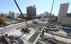 La reconstrucción del puente de Tetuán tras las obras del metro entra en la recta final