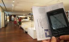 La colección de la Aduana soporta temperaturas de hasta 28,5 grados por una avería en la climatización