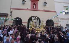 Las procesiones de la Divina Pastora y la Virgen de Fátima abren el ciclo de las glorias
