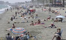 El terral sube el termómetro hasta los 30 grados en Málaga
