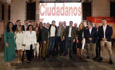 Ciudadanos Antequera presenta su candidatura al Ayuntamiento con el apoyo de Imbroda