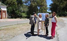 La Junta acuerda con Marbella la mejora de un punto conflictivo de la carretera de Istán