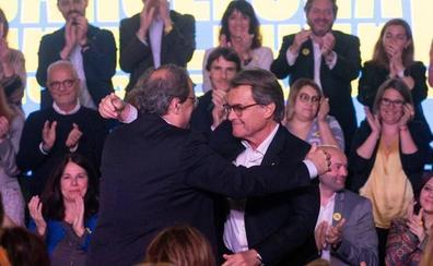 Esquerra, PSC y JxCat, en un pañuelo por la victoria en Cataluña en las elecciones europeas