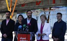 Dani Pérez propone ampliar el Palacio de Ferias de Málaga y construir un hotel en la zona