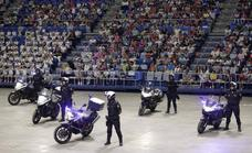 La Policía Nacional se luce ante miles de escolares