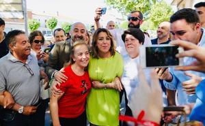 Susana Díaz, sobre la campaña del Gobierno Andaluz tumbada por la Junta Electoral: «Es cutre y fruto de la desesperación»