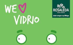 Rosaleda y Ecovidrio se unen para celebrar el Día Mundial del Reciclaje