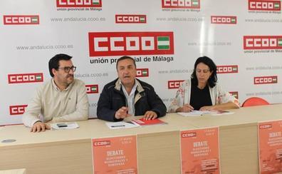 CCOO denuncia que los trabajadores realizan más de 66.000 horas extras al año en Málaga