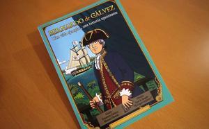 Un cómic dará a conocer la figura de Bernardo de Gálvez a los escolares de la provincia