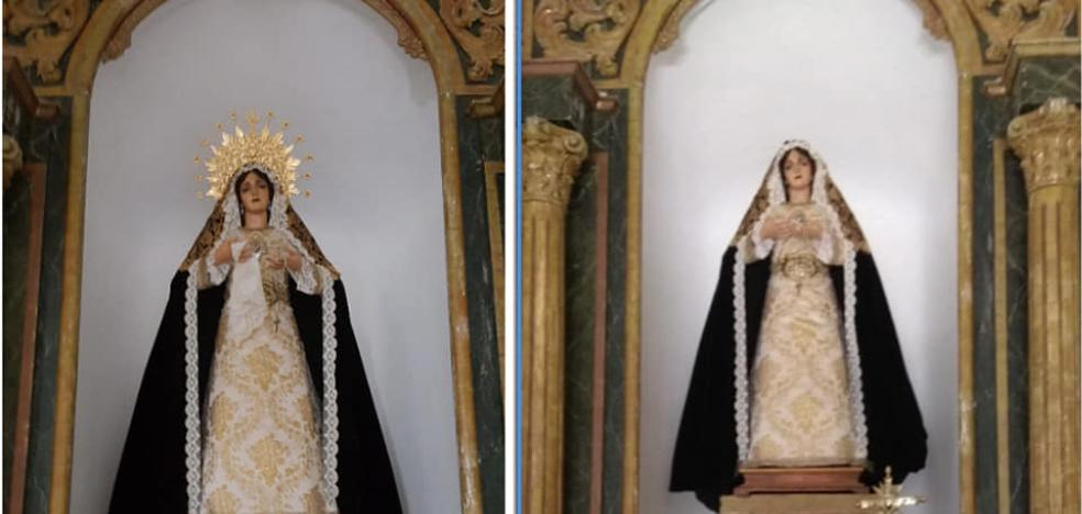 They denounce the theft of several objects of worship in the church of Torrox