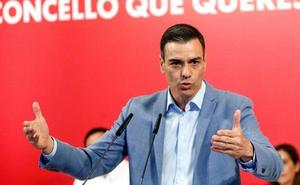 Sánchez pide coherencia al votante del PSOE para «culminar la faena»