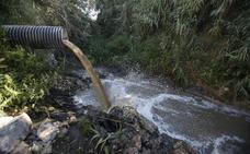 Málaga sigue sin depurar las aguas fecales de 130.000 personas
