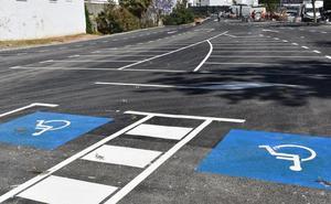 Acondicionan la parcela de calle Postigo con 80 plazas de aparcamientos