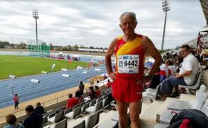 Campeón del mundo de atletismo... a los 75 años
