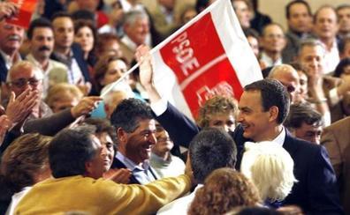 El PSOE acusa al PP de juego sucio por la suspensión del mítin de Zapatero en Marbella