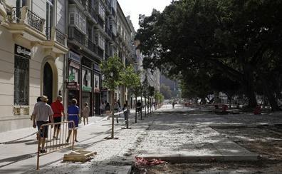 Un estudio pronostica un auge de los locales de la Alameda tras las obras de peatonalización