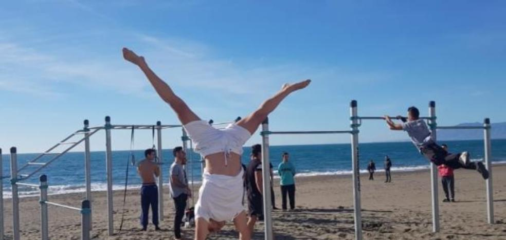 Rincón de la Victoria will install a new park of 'street work out' in Cala del Moral