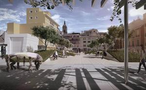 El Ayuntamiento plantará jazmines en las pérgolas de la plaza de Camas para dar sombra