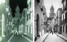 Instantáneas de la vida cotidiana: Calle San Agustín, hacia 1910