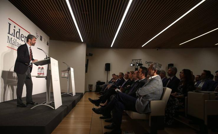 El consejero delegado de Vocento, Luis Enríquez, en el Foro Lidera Málaga