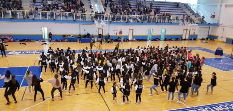Rincon de la Victoria celebrates the event 'Red Cross moves' to promote healthy lifestyle habits and sports practice