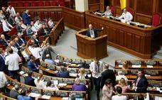 El nuevo presidente de Ucrania llega al poder en un clima de anticipo electoral