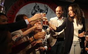 Arrimadas anima a votar el 26M para «contener» las políticas de Sánchez