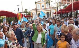 Ángeles Muñoz reivindica la transformación de San Pedro y pide apoyo para gobernar sin hipotecas