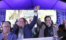 Moreno reafirma el compromiso de la Junta contra la violencia de género y pide sacarla de la batalla partidista