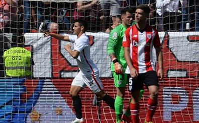 El Sevilla deja al Athletic sin Europa League