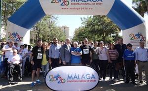 La XX Carrera Urbana por la Integración reúne a 1.300 participantes en Huelin