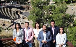Cs propone unir la Alcazaba y Gibralfaro y traer a Málaga una gala de los Goya