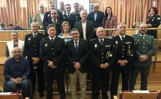 RECONOCIMIENTO A ONCE POLICÍAS LOCALES DE VÉLEZ-MÁLAGA