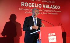 En fotos, el consejero de Economía, Rogelio Velasco, en el Foro SUR