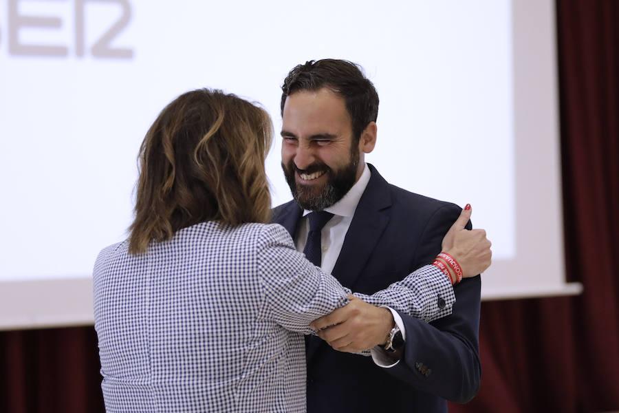Susana Díaz confía en Dani Pérez «la próxima transformación» de Málaga