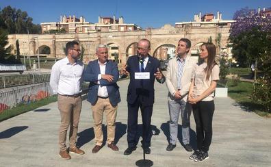 El alcalde se compromete a una «Málaga verde» y a pasar de 9 a 11 millones de metros cuadrados