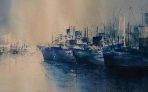 La sala de exposiciones Manuel Barbadillo muestra 'Lo que el mar me sugiere'