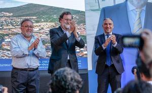 Mariano Rajoy, en Alhaurín de la Torre: «Siempre estaré en deuda con esta provincia»