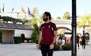 El Liverpool, concentrado en Marbella entre grandes medidas de seguridad