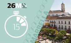 Los candidatos a la Alcaldía de Marbella explican sus ideas en el Whatsapp de SUR