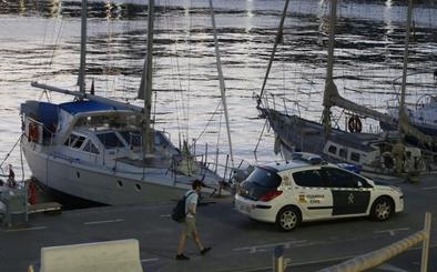Interceptan en Málaga un velero con 600 kilos de cocaína con destino a Baleares