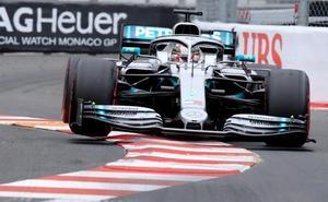 Hamilton domina los primeros libres