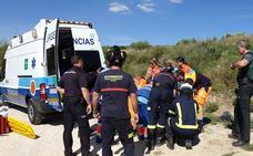 Herido un parapentista tras caer junto a la carretera entre Ronda y Arriate