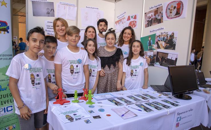 Cantera de ingenieros: la destreza en robótica de alumnos andaluces