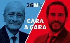 Las mejores frases de los candidatos en el cara a cara entre Francisco de la Torre y Dani Pérez
