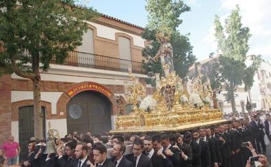 María Auxiliadora recorre este sábado las calles de Segalerva y Capuchinos