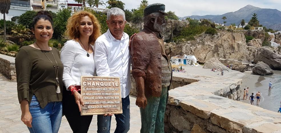 Chanquete returns to Nerja