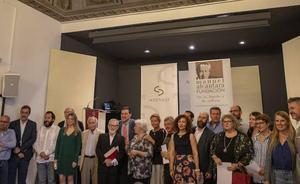Verso de Alcántara, palabra de periodistas